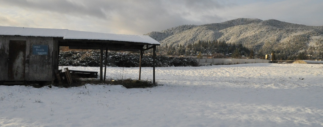 Mt. Ashland gets quite a bit of snow, even if Ashland the town only gets a bit.