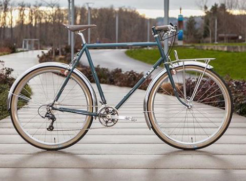 "Blandford's ""The Ride"" townie, showing off his penchant for design and good lines."