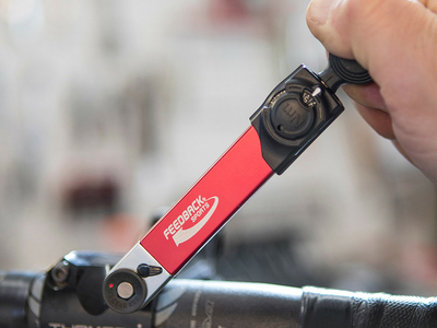 Feedback Sports Torque Wrench on stem bolts.